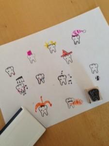 resultaat gestempelde tandjes ontwerpen