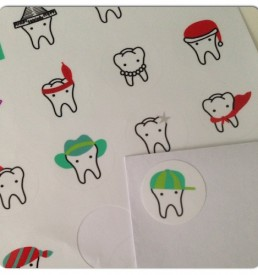 Stickers rond