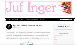 screendump website juf inger