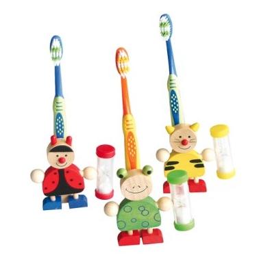 tandenborstelhouders-hout